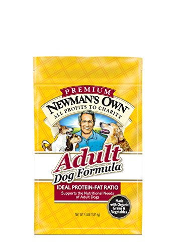 Newman's Own Adult Dog Food Formula, 4-Pound Bags, Pack of 3