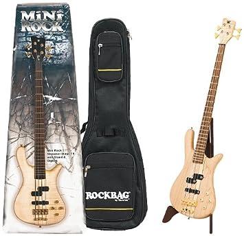 Warwick Rock Streamer Stage 4 - Mini guitarra eléctrica (con funda): Amazon.es: Instrumentos musicales