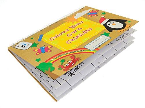 Ci Colour Your Own Calendar Colouring Book