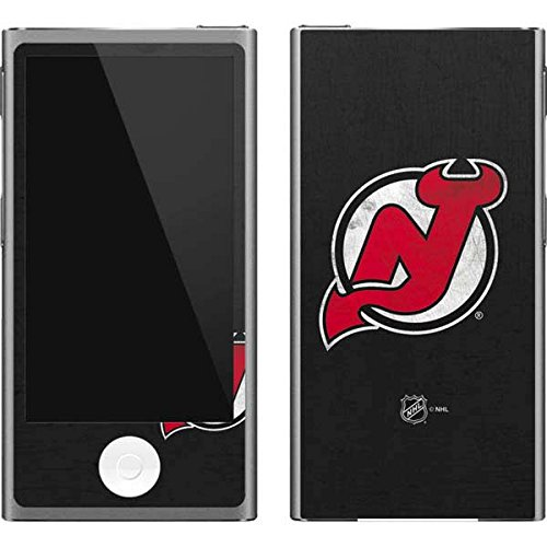 (Skinit NHL New Jersey Devils iPod Nano (7th Gen&2012) Skin - New Jersey Devils Distressed Design - Ultra Thin, Lightweight Vinyl Decal Protection )