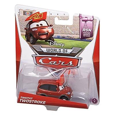Disney Pixar Cars Timothy Twostroke Diecast Vehicle: Toys & Games