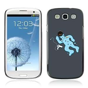 Designer Depo Hard Protection Case for Samsung Galaxy S3 / Snowman Crime Scene wangjiang maoyi