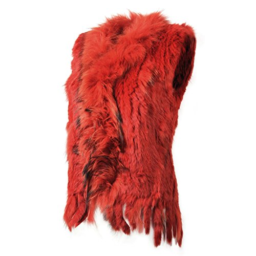 Glamexx24 - Chaleco - para mujer Rojo