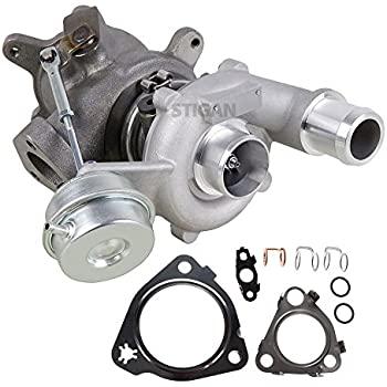 Stigan Left Side Turbo Kit With Turbocharger Gaskets For Ford Taurus SHO 2010 2011 2012 2013 2014 2015 - BuyAutoParts 40-80583SV New