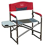 Timber Ridge Director's Chair Folding Aluminum Camping Chair