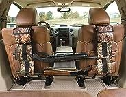 astDeals Hunting Gun Sling, Car Concealed Seat Back Gun Rack to Hold 2 Rifles/Shotguns with A Storage Bag for