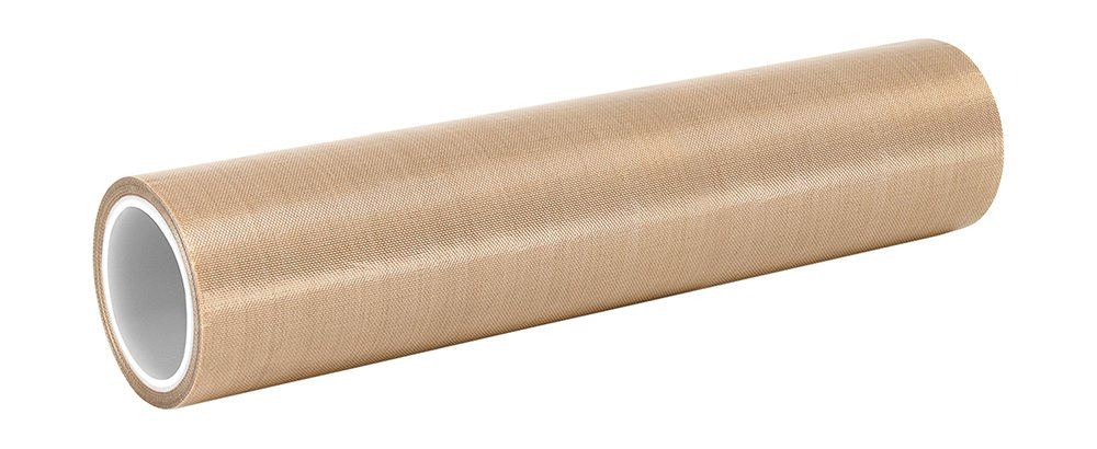 3M 8-5-5153 Light Brown PTFE Glass Cloth Tape 100 to 500 degrees F Performance Temperature 0.008 Thick 0.008 Thick