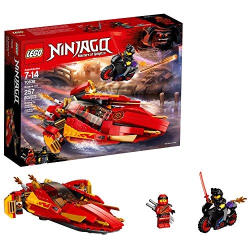 LEGO NINJAGO Katana V11 70638 Building Kit (257 Piece)]()