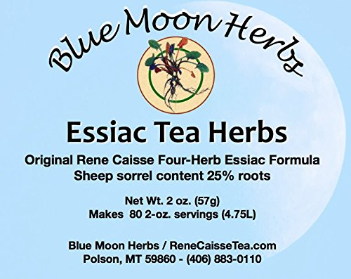 Essiac Tea Herbs organic, Sheep sorrel content 25% root - 2 oz.