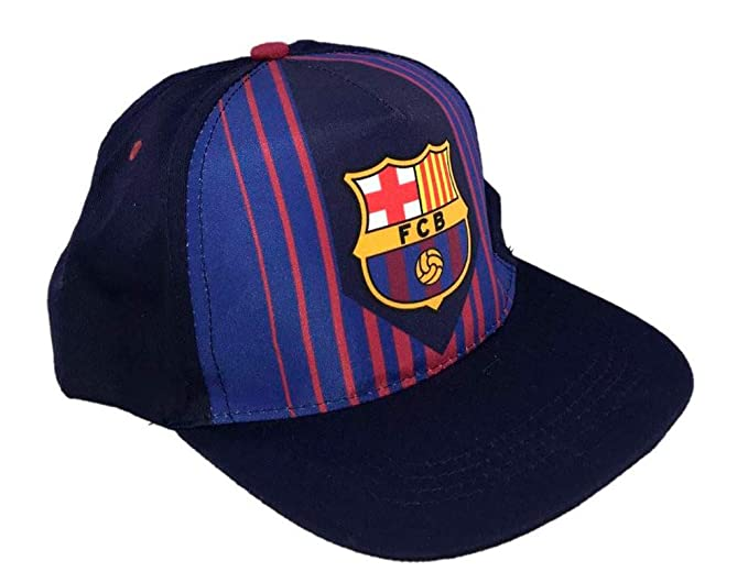 95e5d494b209b Gorra FC. Barcelona infantil T.52-54  Amazon.es  Ropa y accesorios