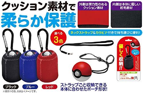 (닌텐도 스위치 포켓몬스터) Nintendo Switch 몬스터 볼Plus용 소프트 파우치『소프트 파우치PlusSW (레드) 』 - Switch