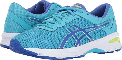 Price comparison product image ASICS Unisex-Kids GT-1000 6 GS Running Shoe, Aquarium/Blue Purple/Lime, 4 Medium US Big Kid