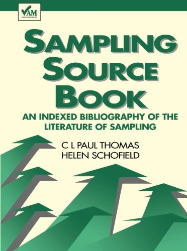 Sampling Source Book: A Indexed Bibliography of the Literature of Sampling