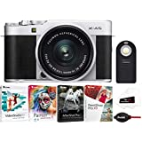 Fujifilm X-A5 Camera (Silver) with XC15-45mm and Focus Software Bundle