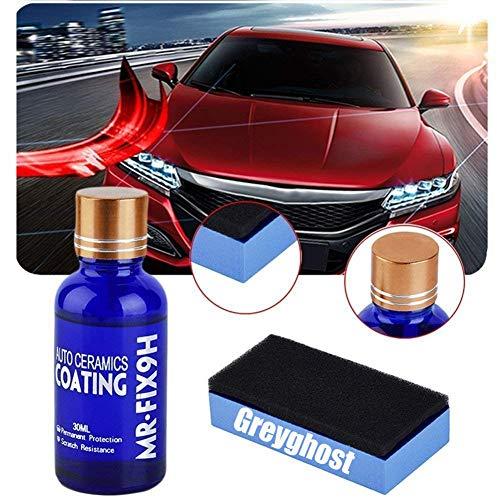 50ml Car Body Liquid Ceramic Coating Wax Glass Coating Anti-scratch Polish Coating Agent Smudge-proof Scrape Resistance Hot Paint Care Car Wash & Maintenance