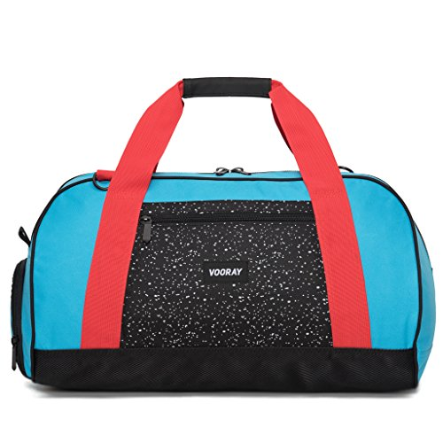 vooray-burner-21-gym-bag-with-shoe-pocket-and-laundry-bag-turquoise-red