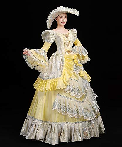 High End Court Rococo Baroque Marie - Vestido para Mujer, diseño ...