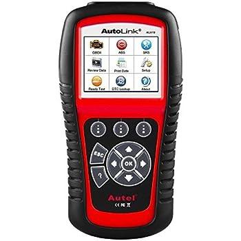 Autel AL619 Autolink Engine,Transmission,ABS,SRS Auto OBD2 Scanner Car Code Reader Automotive Diagnostic Tool