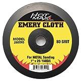 Hot Max 26090 1-Inch by 25 Yards 80 Grit Emery Cloth