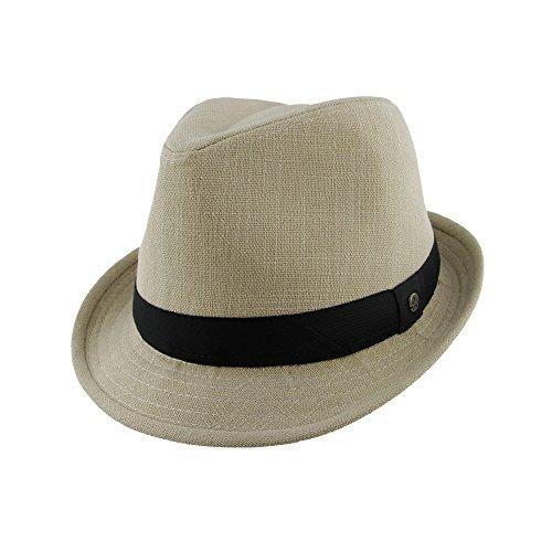 Classic Womens Mid Brim UPF50+ Sun Hat - Natural Color