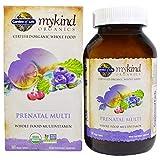 Garden of Life, MyKind Organics, Prenatal Multi, Whole Food Multivitamin, 180 Vegan Tablets