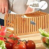 Bamboo Bread Slicer | Bread Loaf Slicing Machine