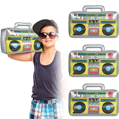 Inflatable Boombox 16.5 Inches Inflatable Boom Box