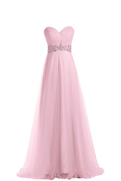 Dimensioni TOSKANA a forma di cuore tulle stanotte benda sposa extra lungo  dal giovane Party ball abiti da sposa rosa 44  Amazon.it  Abbigliamento 1a56d0fafa8