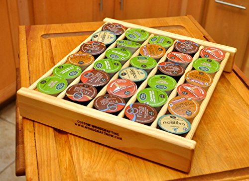 COFFEE POD DRAWER INSERT ORGANIZER FOR 45 CUPS