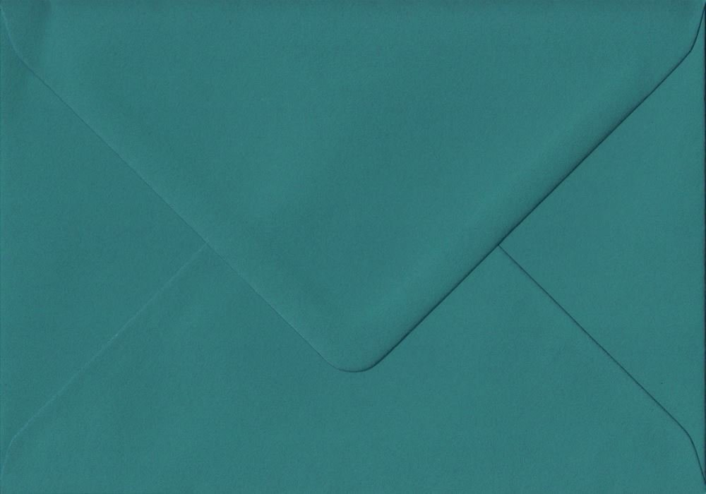 pour sadapter au A7 Lot de 100/Bleu sarcelle Vert 82/mm x 113/mm 135/g//m/² gomm/é Luxe C7/ GF Smith Colorplan papier. de couleur Vert enveloppes
