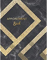 """Appointment Book: 8 Column Appointment Book for Salons, Spas, Hair Stylist, Beauty, Business, Daily and Hourly Schedule Notebook, Weekly Monday to Sunday, Planners Personal Organizers, Size 8.5""""x11"""" 100 Pages (Appointment Book 15 Minute Increments) (Volume 1)"""