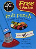 4C Totally Light 2 Go Fruit Punch, Sugar-Free, (72 Packets) [RETAIL PACKAGING]