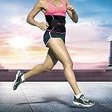MEILYLA Waist Trimmer Premium Weight Loss Belt for Men / Women Workout Sweat Enhancer Exercise Adjustable Wrap for Stomach Abdominal Muscle