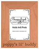 Best Personalized Gifts Buddies Frames - Personalized Gifts Grandpa Gift Poppy's Lil' Buddy Grandson Review