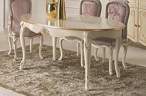 dafnedesign. com - Mesa ovalada de estar y comedor de comedor, color ...