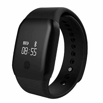 A88+ Reloj Inteligente Sannysis 4.0 Bluetooth Monitor de Pulso cardiaco Monitor de Sangre (Negro): Amazon.es: Deportes y aire libre