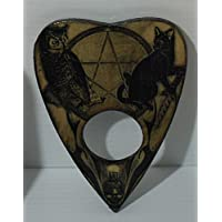 Lord Mocks Cat and Owl Planchette (Spirit Pointer)