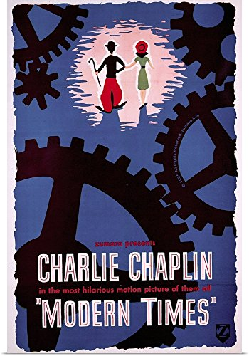 Poster Print entitled Charlie Chaplin A Dog's Life 1 by Great BIG Canvas (Chaplin Movie Poster)