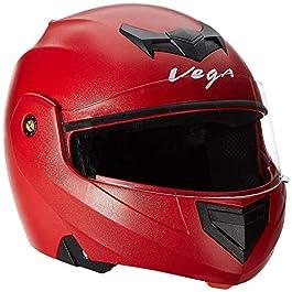 Vega Crux CRX-R-S Flip-up Helmet (Red, S)
