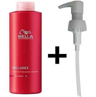 aprs shampoing couleur wella professionals brilliance pour cheveux finsnormaux 1000 ml pompe - Shampoing Wella Cheveux Colors