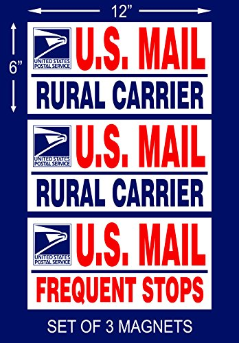 set-of-3-us-mail-delivery-magnetic-signs-rural-delivery-carrier-magnet-6x12-usps