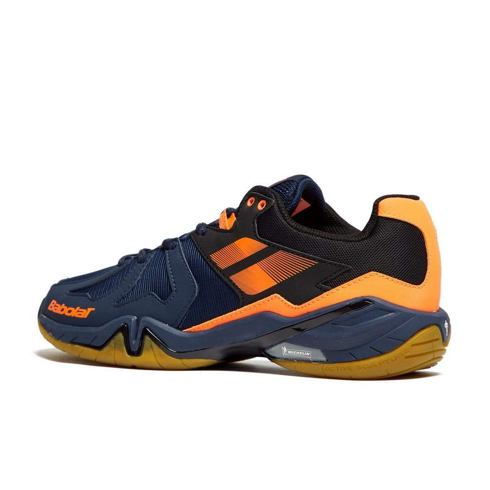 Babolat Badmintonschuh Shadow Men Spirit Men Shadow 2018 Blau Orange 33b268