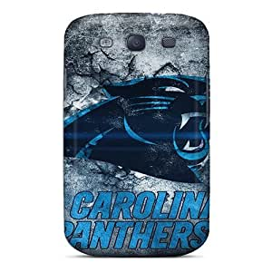 New Arrival Covers Cases With Nice Design For Galaxy S3- Carolina Panthers