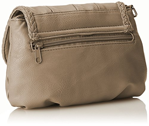 14 sac x main clutch à pour bag cm Taupe Petit sac bandoulière femme taupe citytasche 23 YCPwWS7xq