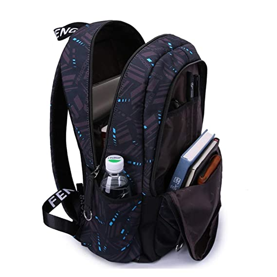 Amazon.com: Men 15.6 Laptop Women School Notebook Bag Oxford Waterproof Travel Backpack Back Bags For Girls: Clothing