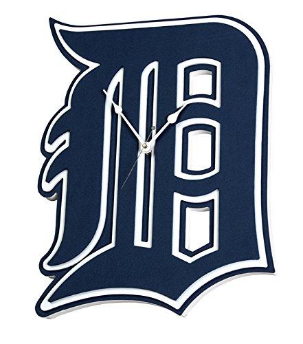 Foam Fanatics Detroit Tigers Foam Logo Clock