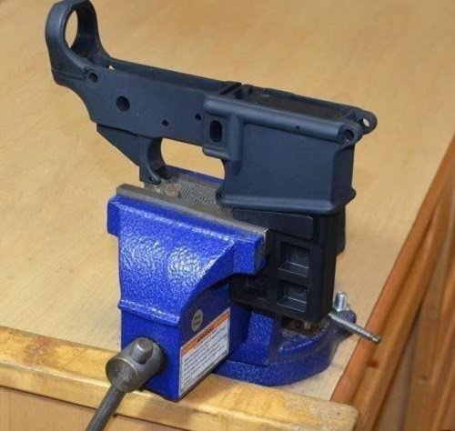 Ar 15 Lower Accessories .223 5.56 Mag Gunsmith Armorer Holder Workbench Table Clamp Tool