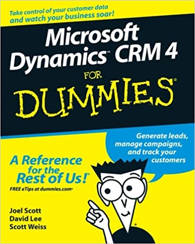 Amazon microsoft dynamics crm 4 for dummies 9780470343258 amazon microsoft dynamics crm 4 for dummies 9780470343258 joel scott david lee scott weiss books fandeluxe Choice Image