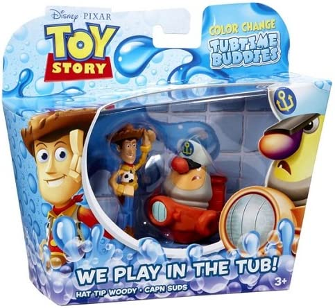 Toy Story Color Splash Buddies 2 Pack - Woody y Capn Suds: Amazon ...