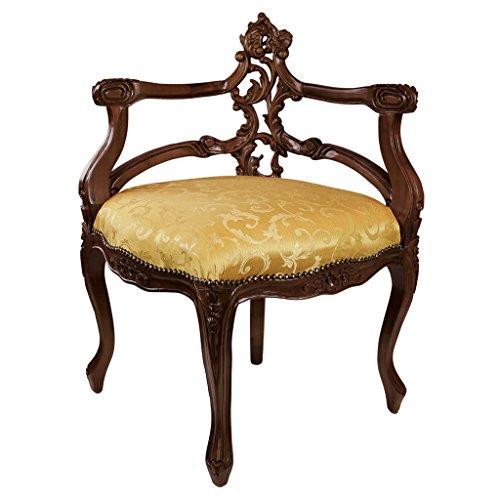 Amazon.com: Design Toscano French Salon silla esquinera ...